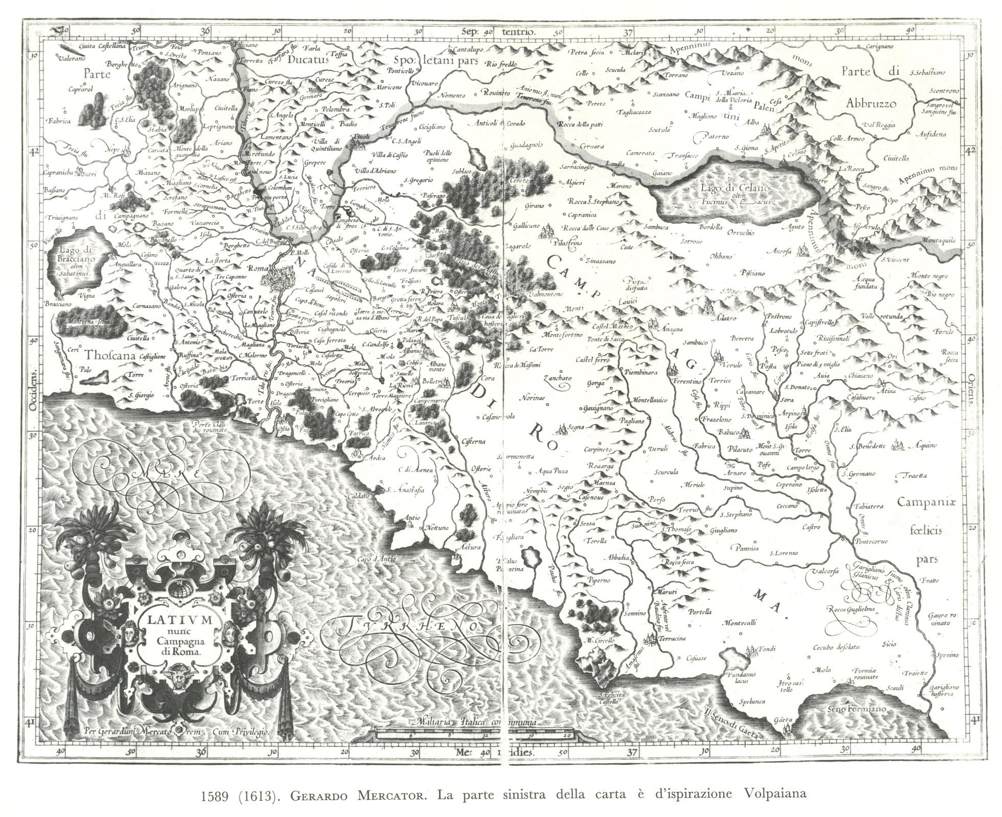 Cartina Topografica Del Lazio.Cartografia
